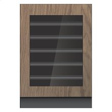 """Panel-Ready 24"""" Built-In Undercounter Wine Cellar, Right Swing, Stainless Steel"""