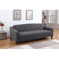 Traditional Dark Grey Sofa Bed Product Image