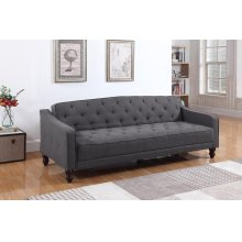 Traditional Dark Grey Sofa Bed