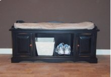 """#353 Entry Bench 46""""wx17.75""""dx20.75""""h"""