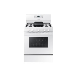 Samsung Appliances5.8 cu. ft. Freestanding Gas Range with Convection in White