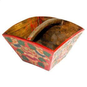 Painted Planter (Red)