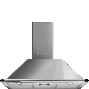 """Smeg90 CM (approx. 36""""), Victoria Ventilation Hood, Stainless steel"""