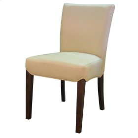 Beverly Hills Bonded Leather Chair, Cream