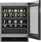 KWT 6322 UG Built-under wine storage unit with FlexiFrame and Push2open for greater versatility and top-quality design. Product Image
