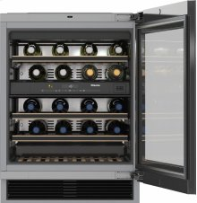 KWT 6322 UG Built-under wine storage unit with FlexiFrame and Push2open for greater versatility and top-quality design.