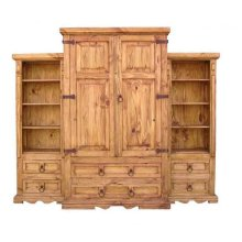 3 Piece Wall Armoire (hinges Outside)