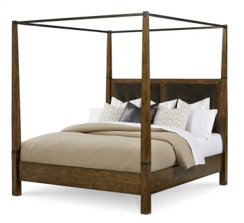 Echo Park Queen Poster Bed With Canopy Product Image