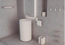 "Miss by Zen Soap Dispenser W 3 1/2""x D 3 3/4""x H 4 3/4""Black"
