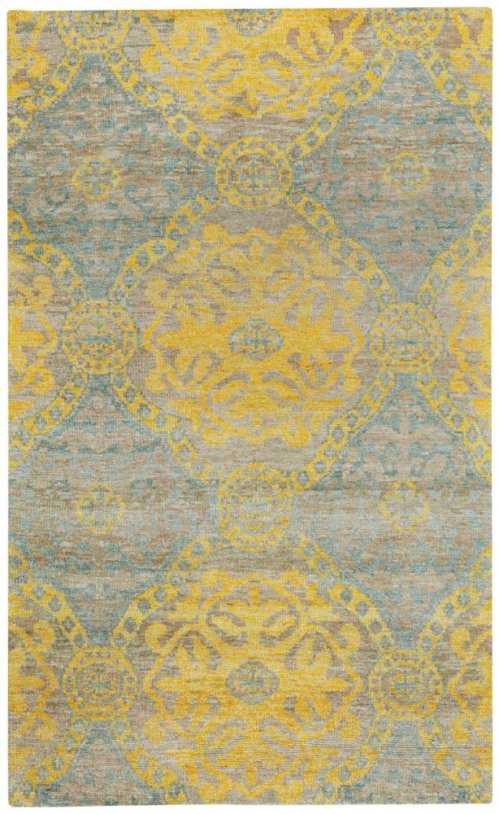Carousel-Ring Leader Popcorn Hand Knotted Rugs