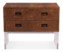 Brass Tack Chest On Stand