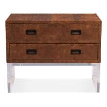 Brass Tack Trunk On Stand
