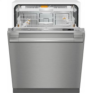 MieleG 6785 SCVi SF AM Fully-integrated, full-size dishwasher with hidden control panel, 3D+ cutlery tray and CleanTouch Steel panel