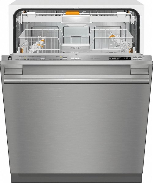 G 6785 SCVi SF AM Fully-integrated, full-size dishwasher with hidden control panel, 3D+ cutlery tray and CleanTouch Steel panel