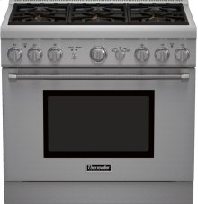 36 inch Professional Series Pro Harmony Standard Depth All Gas Range PRG366GH