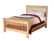 Alder Shaker Slat Bed Product Image