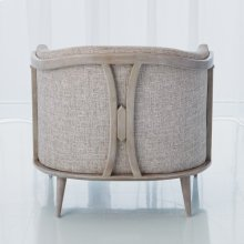 X Back Chair-Muslin