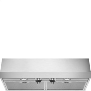 "Smeg30"" Pro-Style, Under Cabinet Hood, Stainless Steel"