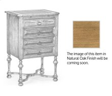 Tudorbethan Natural Oak Bedside Chest of Drawers