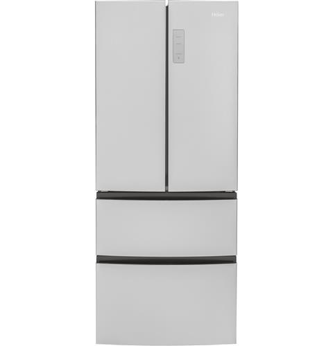haier 15 cu ft french door refrigerator hrf15n3ags kieffer 39 s appliances. Black Bedroom Furniture Sets. Home Design Ideas