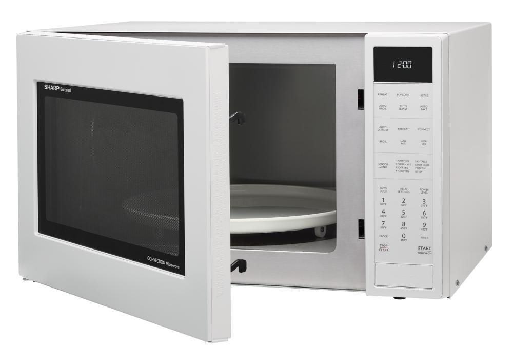 Smc1585bw Sharp Appliances 1 5 Cu Ft 900w Sharp White