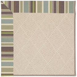 Creative Concepts-White Wicker Brannon Whisper Machine Tufted Rugs