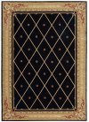 Ashton House As03 Blk Rectangle Rug 5'6'' X 7'5''