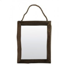 Mirror rectangle 64x50 cm SIGHT wood natural