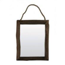 Mirror rectangle 64x50 cm SIGHT wood natural