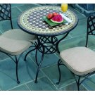 "30"" Round Basketweave Bistro Table Base Product Image"