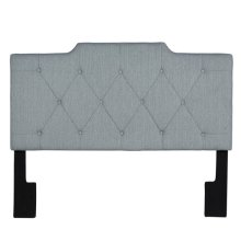 6/6 King Upholstered HB Fabric:Marmor