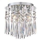 Tower Flush Mount in Polished Chrome