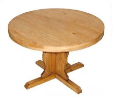 48 Inch Plain Round Table