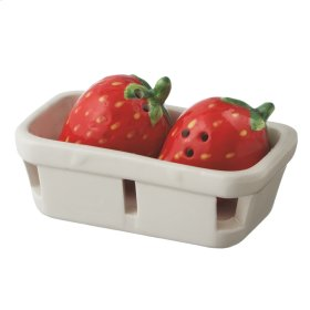 Strawberry Basket Salt & Pepper set/3.