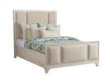 Queen Crystal Cove Upholstered Panel Bed