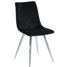 Marlo Side Chair, set of 2, in Black