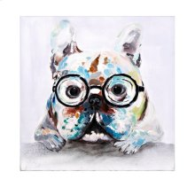 Wynford in Glasses Oil Painting