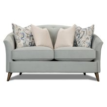 Tiffany Blue Loveseat