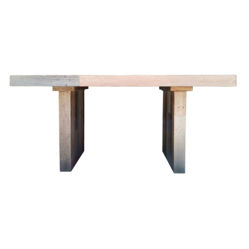 Vintage Dining Table Small Grey