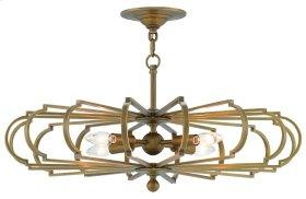 Bascom Brass Chandelier