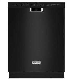 KitchenAid® 24'' 6-Cycle/5-Option Dishwasher, Pocket Handle - Black