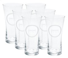 GROHE Blue Water glasses (6 pieces)