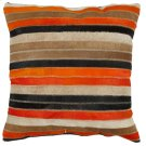Quinn Pillow - Orange / Tan Product Image