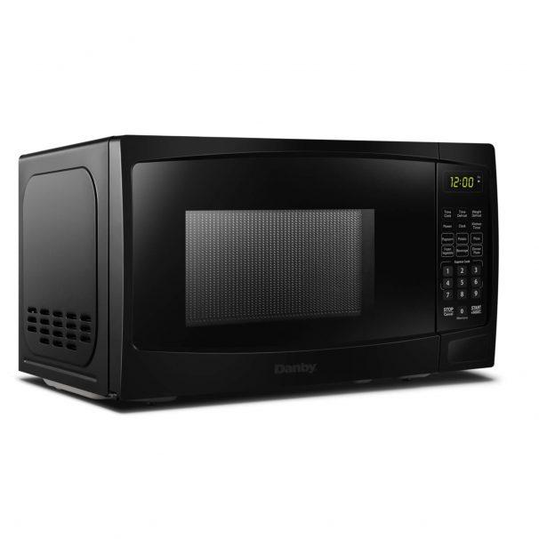Danby 0 7 Cuft Black Microwave