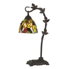 60W Cotulla Downbrdige Tiffany Metal Table Lamp