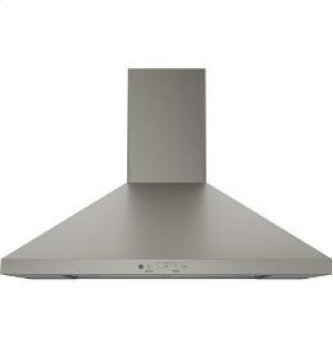 "30"" Wall-Mount Pyramid Chimney Hood"