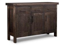 Rafters Sideboard w/3 Wood Doors & 3/Dwrs & 1/Wood Halfshelf
