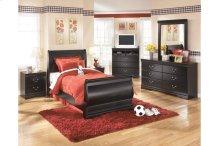 Huey Vineyard - Black 7 Piece Bedroom Set