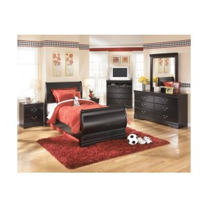 Ashley Furniture Huey Vineyard - Black 7 Piece Bedroom Set