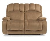 Huron Fabric Reclining Loveseat